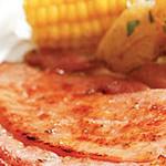 Apricot Cinnamon Ham Steak