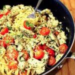 Garlic Chicken Pesto