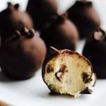 Chocolate Chip Cookie Dough Truffles